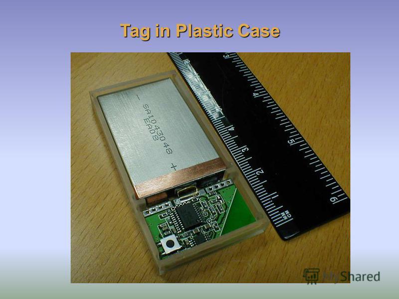 Tag in Plastic Case