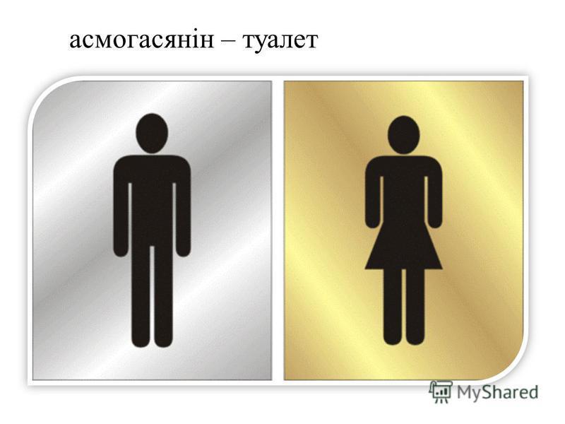 асмогасянін – туалет