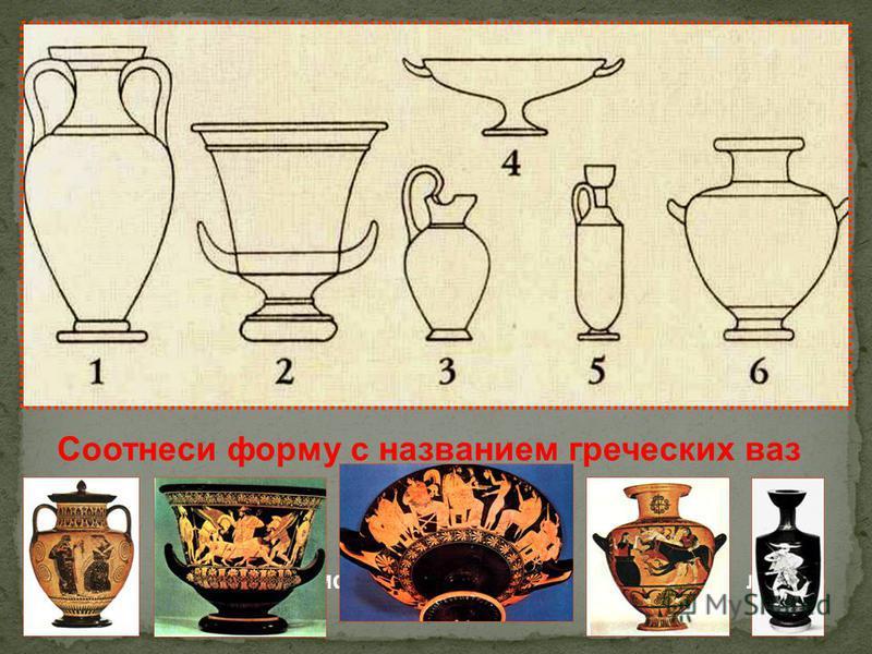 Краснофигурная роспись фона вазы Чернофигурная роспись фона вазы Греческая вазопись