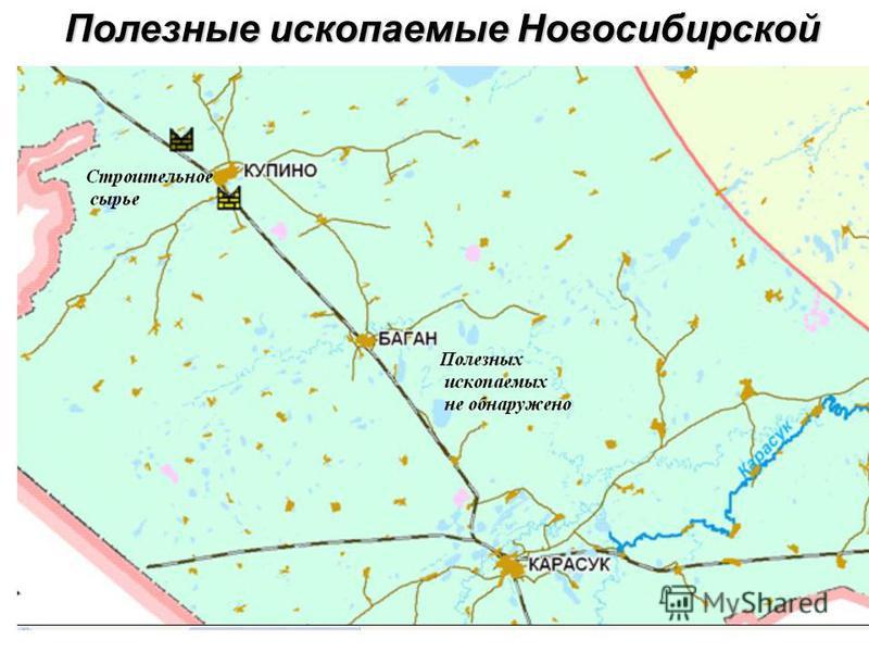 Полезные ископаемые Новосибирской области