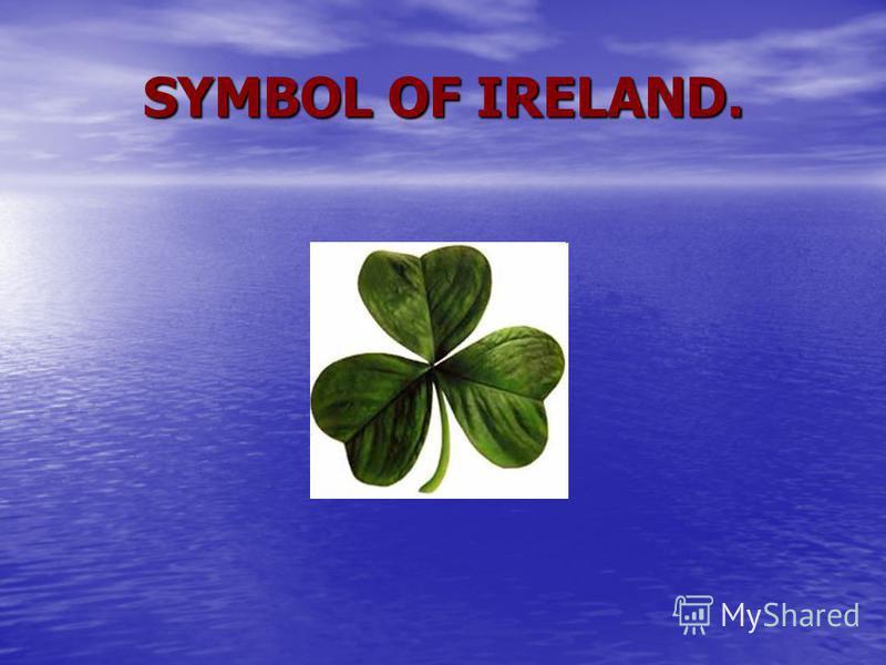 SYMBOL OF IRELAND.