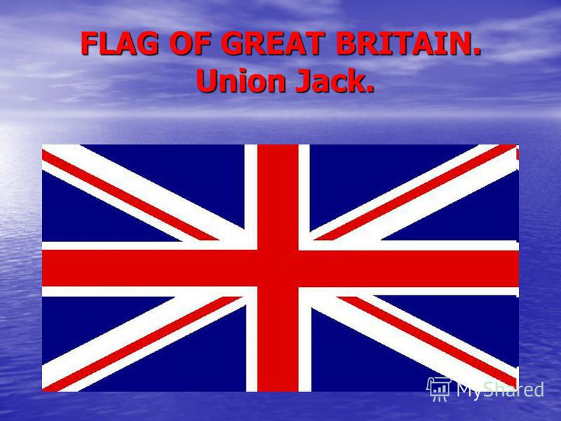 FLAG OF GREAT BRITAIN. Union Jack.