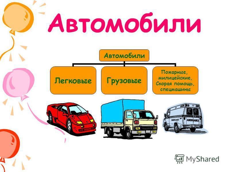 Автомобили Легковые Грузовые Пожарные, милицейские, Скорая помощь, спецмашины