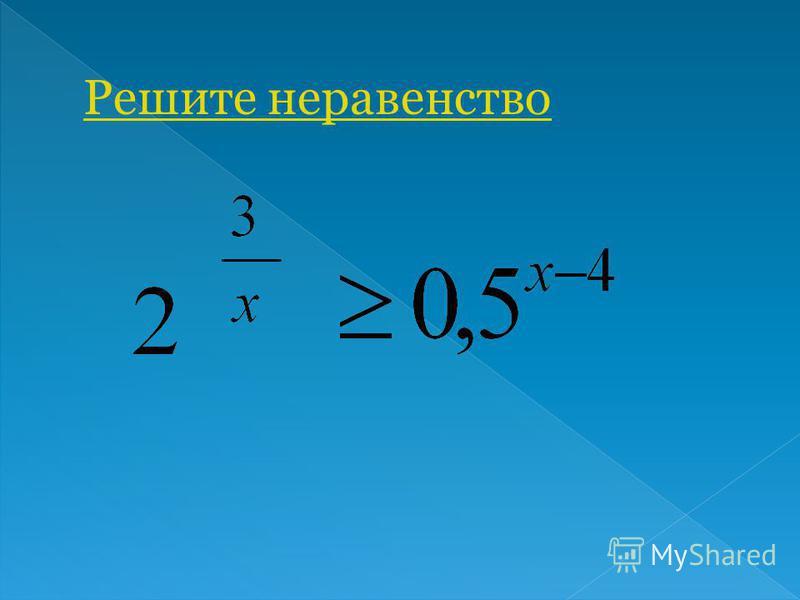 Назовите свойства функции y=a, если 0<a<1