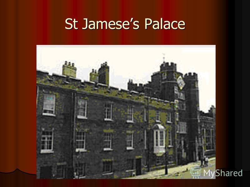 St Jameses Palace