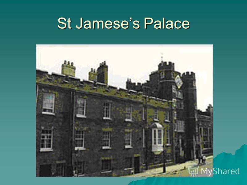 St Jameses Palace