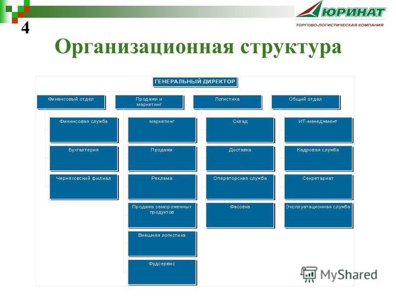 Организационная структура 4