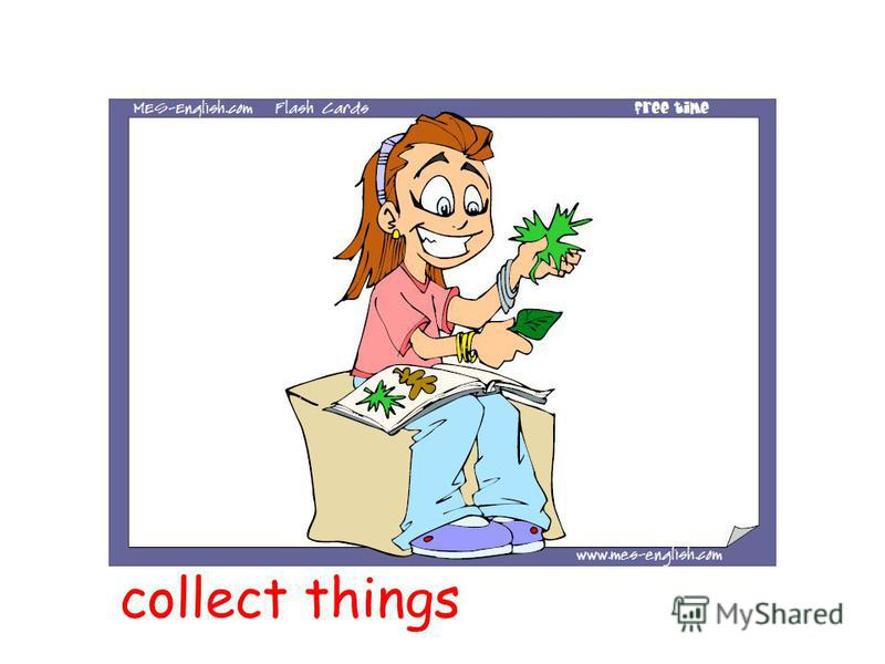 collect things