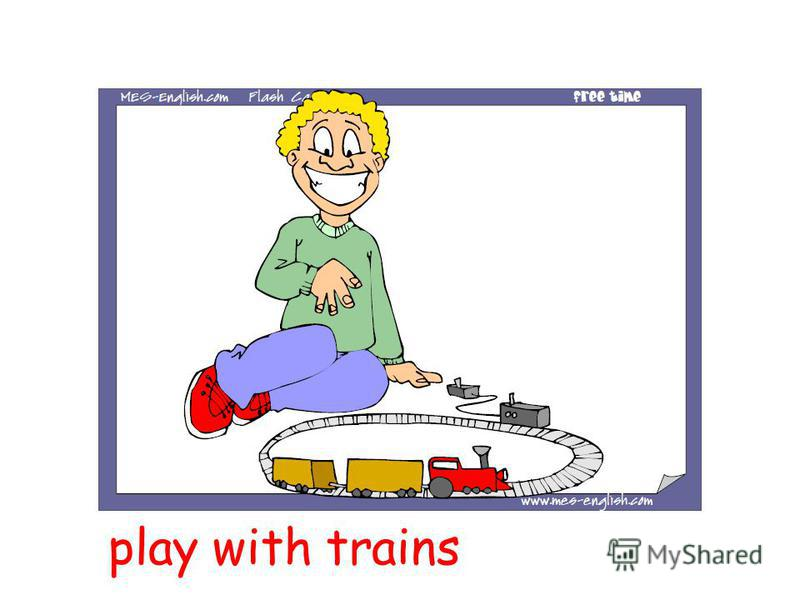 play with trains