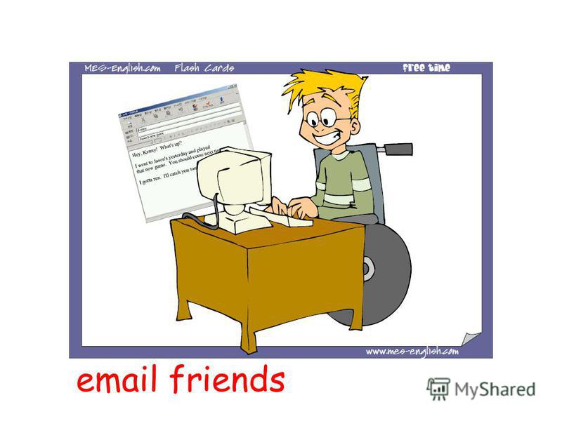 email friends