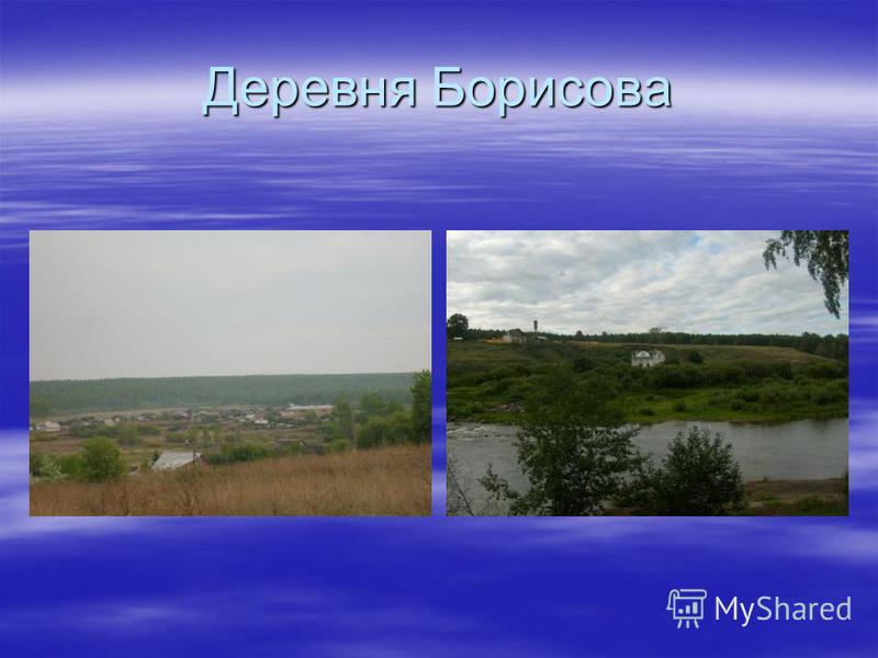 Деревня Борисова