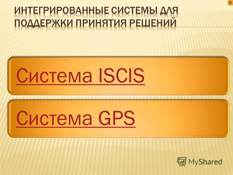 Система ISCISСистема GPS