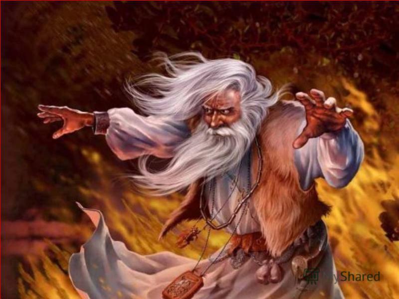 Другим магическим воздействием на погоду было чародейство заклинание с чарой, наполненной водой. Археологами обнаружено несколько таких сосудов, покрытых символическими изображениями времен года. Водой из этых сосудов окропляли посевы, чтобы увеличит