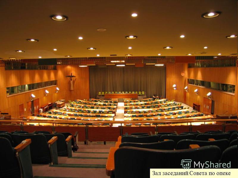 Зал заседаний Совета по опеке