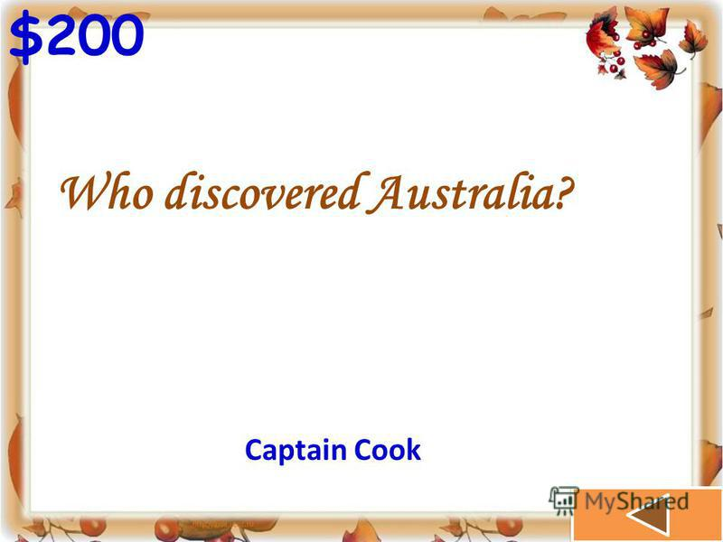 $100 How many people live in Australia? 18 mln