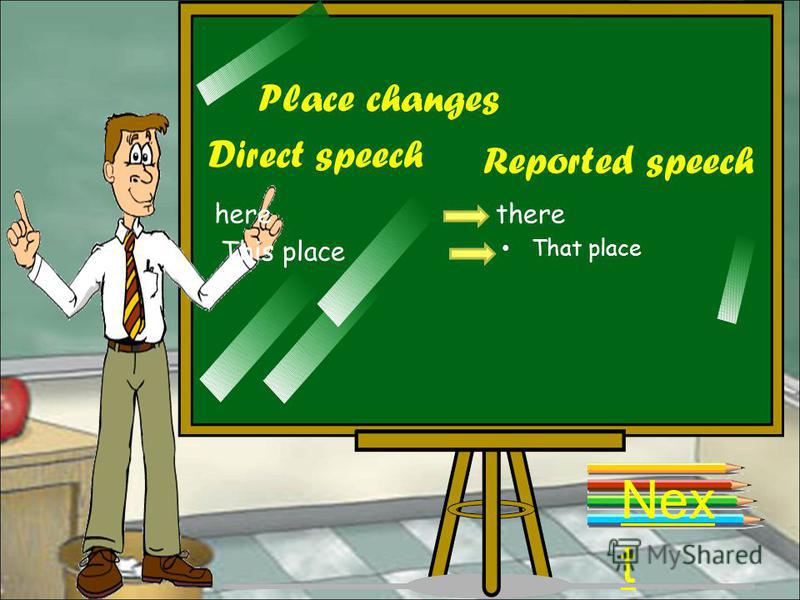 Verb tense changes: Nex t Present simple Direct speech Reported speech Past simple Past Simple Past Perfect Present continuous Past continuous Present perfectPast perfect Present perfect continuous Past perfect continuous FutureConditional