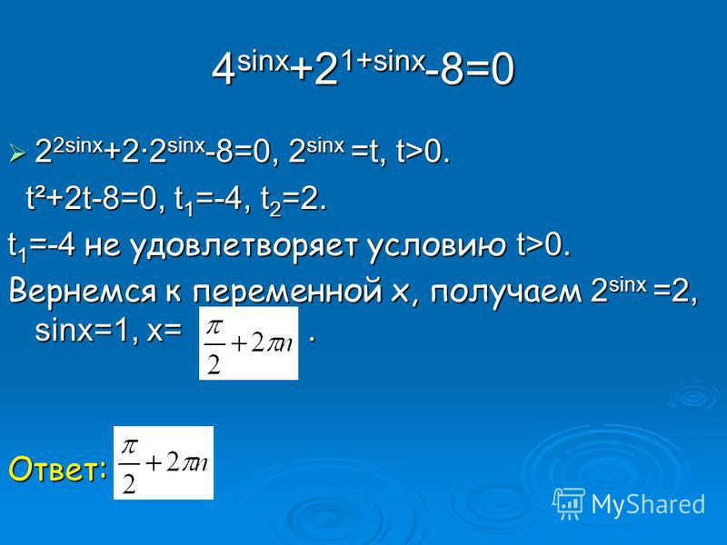 Применим метод интервалов. 4 х-7=0 при х=1¾. Применим метод интервалов. 4 х-7=0 при х=1¾. 16 х -32=0, 2 4 х =2 5, 4 х=5, х=1¼. 16 х -32=0, 2 4 х =2 5, 4 х=5, х=1¼. Ответ: (-;1¼)υ(1¾,+). Ответ: (-;1¼)υ(1¾,+). х 1¼1¼ 1¾ + - +
