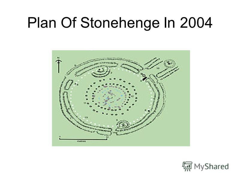 Plan Of Stonehenge In 2004