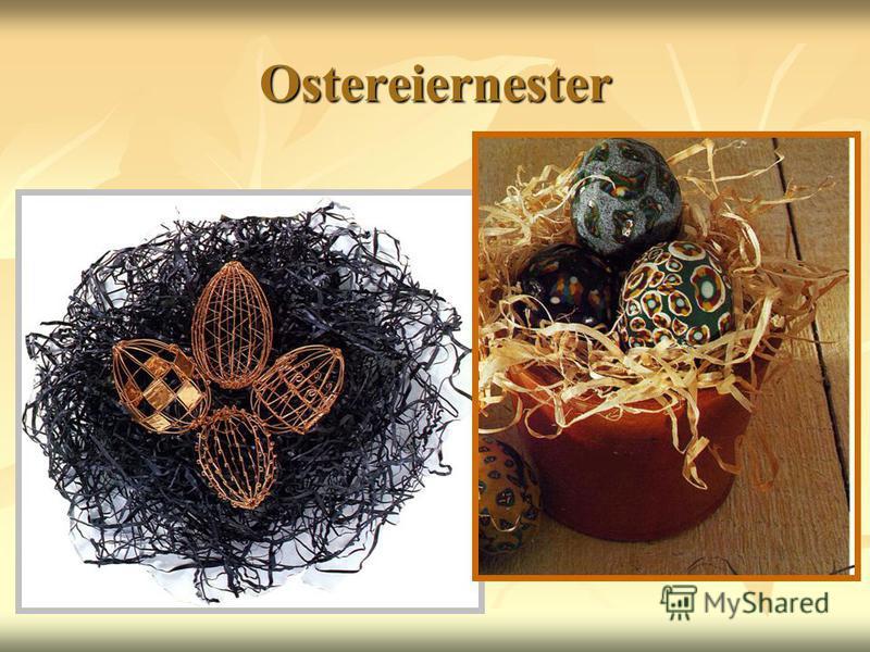 Ostereiernester