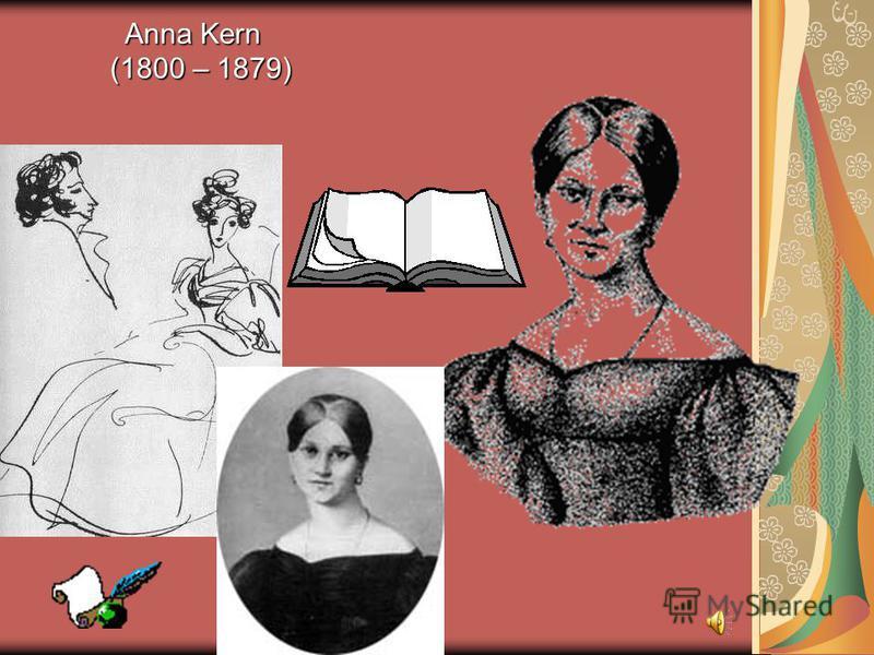 Anna Kern (1800 – 1879) Anna Kern (1800 – 1879)