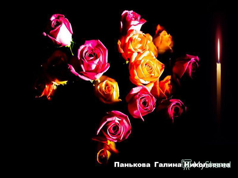 Панькова Галина Николаевна