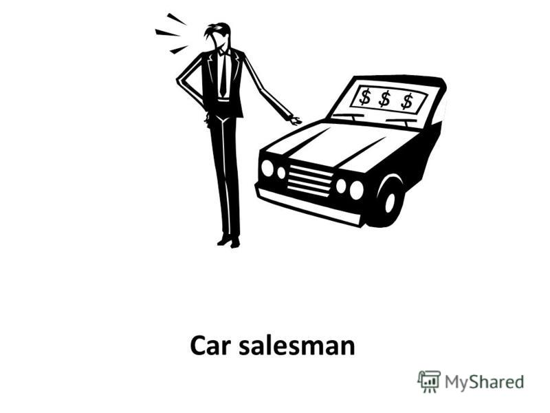 Car salesman
