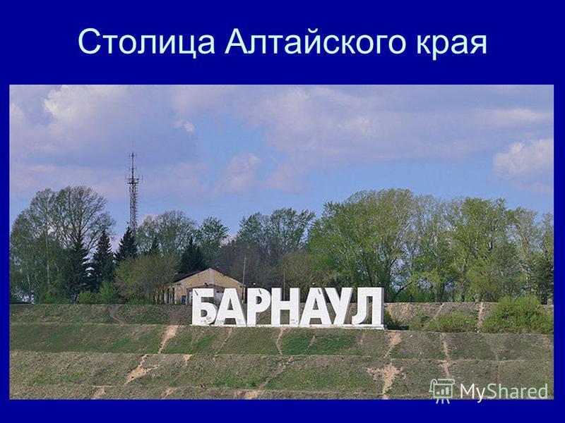 Столица Алтайского края