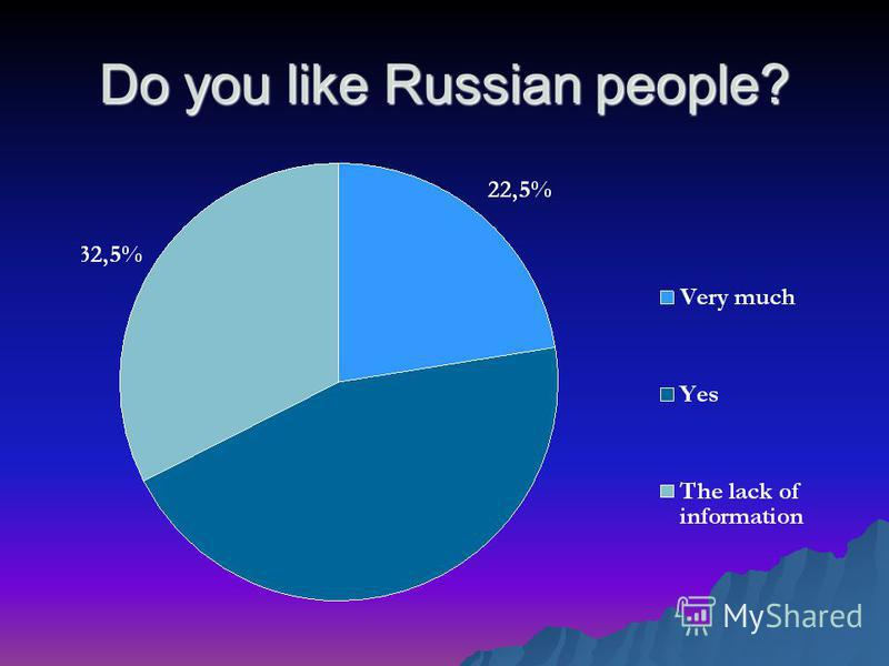 Do you like Russian people?