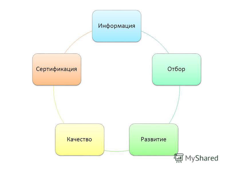 Информация ОтборРазвитие КачествоСертификация