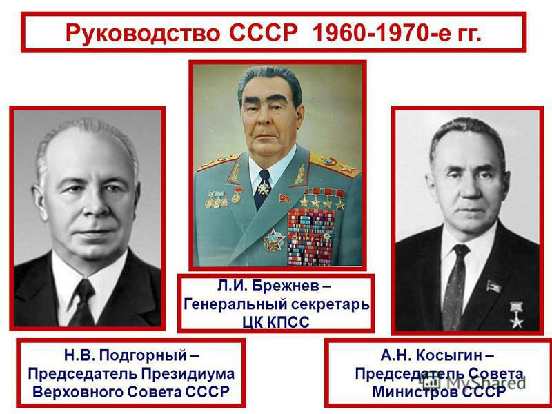 высший слой партийного руководства в ссср - фото 4