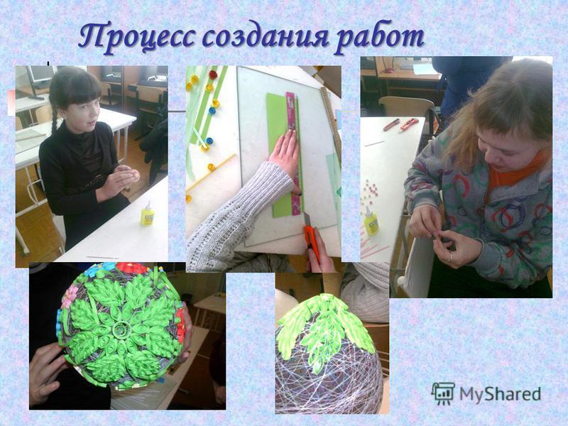 Процесс создания работ