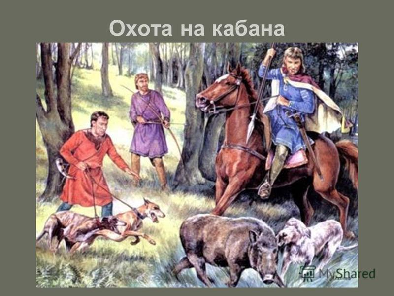 Охота на кабана
