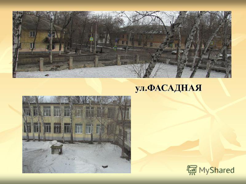 Школьный двор ул.ФАСАДНАЯ