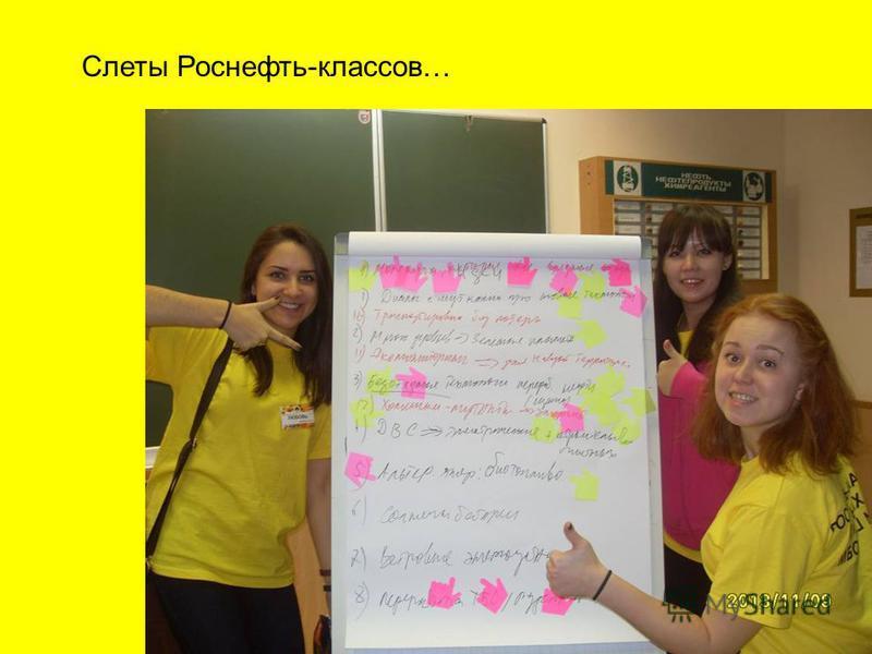 Слеты Роснефть-классов…