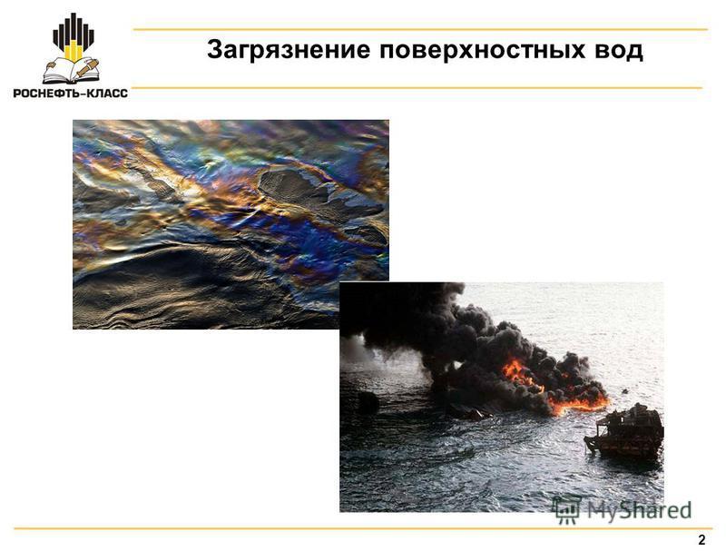 2 Загрязнение поверхностных вод