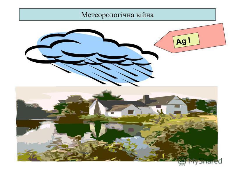 Ag I Метеорологічна війна