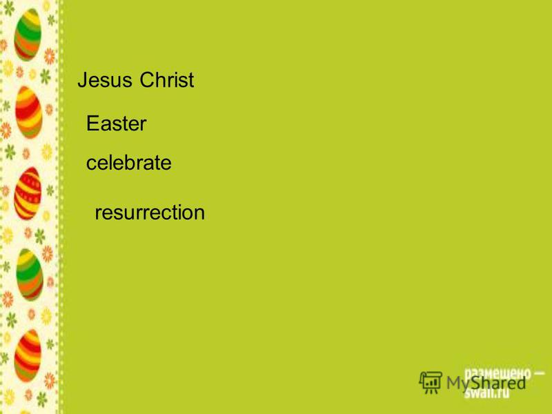 Jesus Christ Easter celebrate resurrection