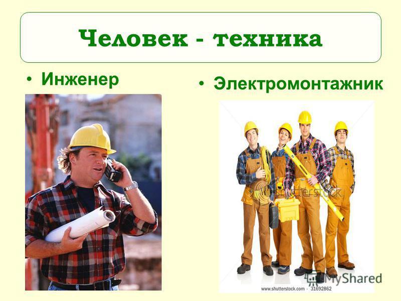 Инженер Электромонтажник Человек - техника