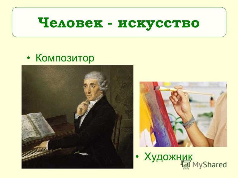 Художник Композитор Человек - искусство