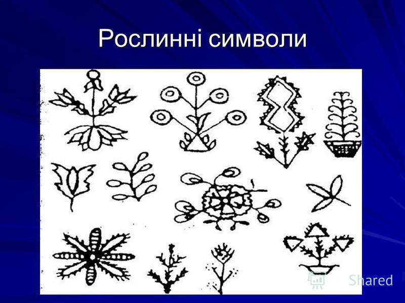 Рослинні символи