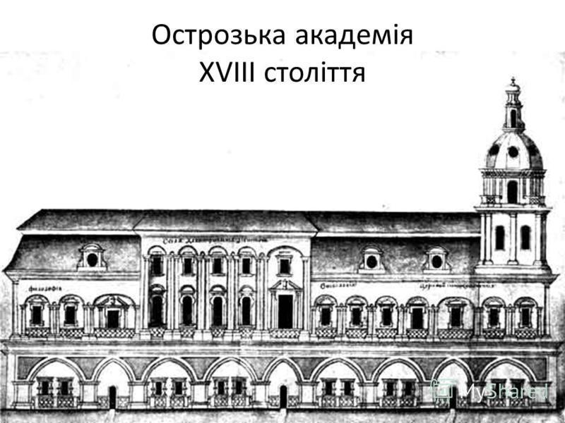 Острозька академія XVIII століття