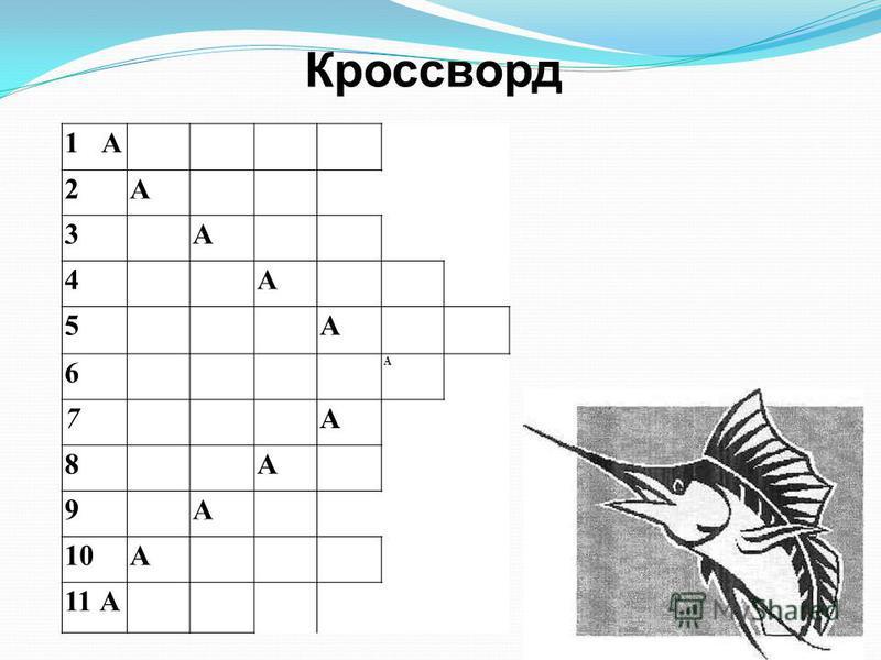 1 А 2А 3А 4А 5А 6 А 7А 8А 9А 10А 11 А Кроссворд