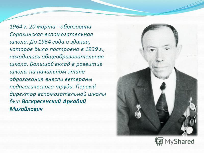 Воскресенский Аркадий Михайлович