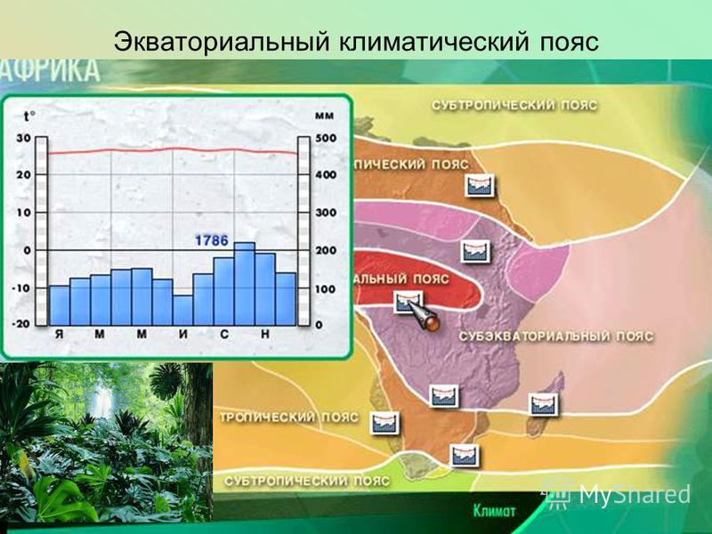 Экваториальный климатический пояс