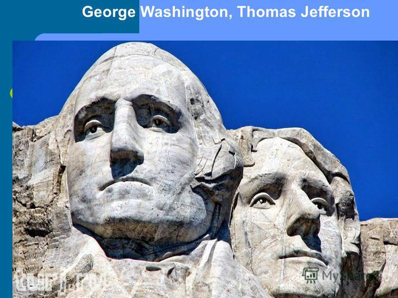 George Washington, Thomas Jefferson