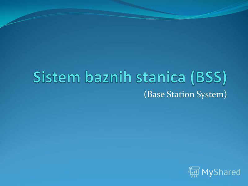 (Base Station System)
