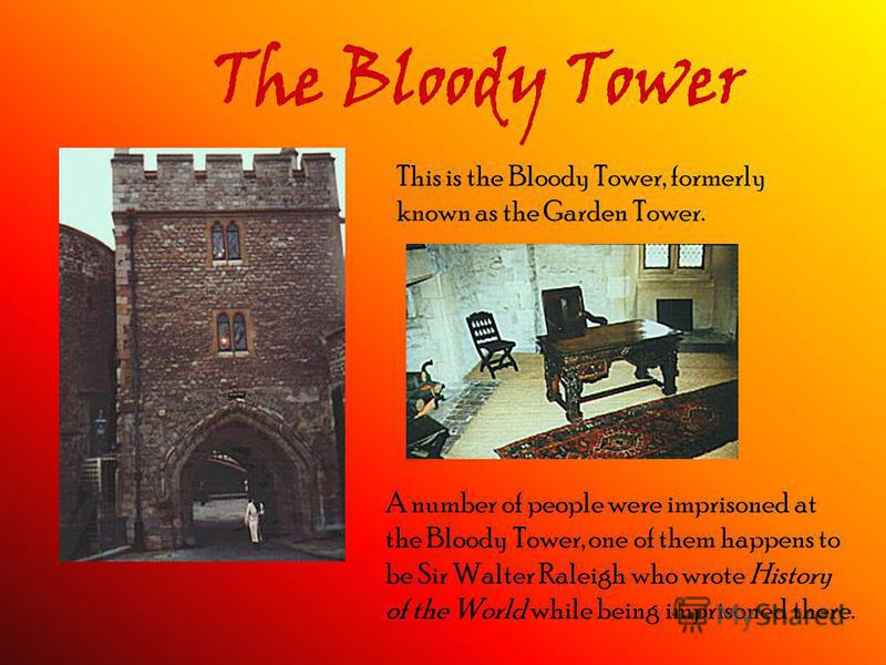 Prisoners at the Tower of London The people executed or imprisoned at the Tower were: · Queen Elizabeth I – she is known to be the only one who left the tower unexecuted. · Anne Boleyn – she was murdered because Henry VIII was unsatisfied with the fa