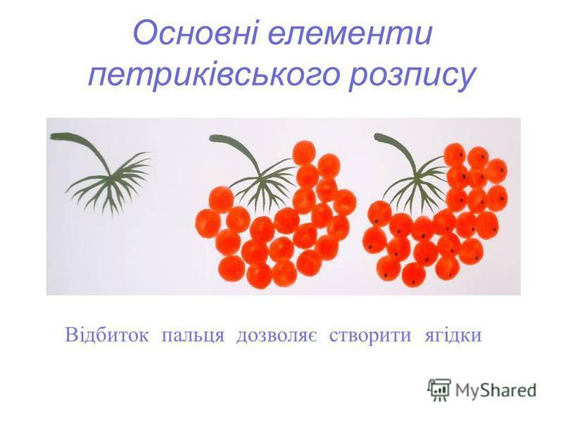 Відбиток пальця дозволяє створити ягідки
