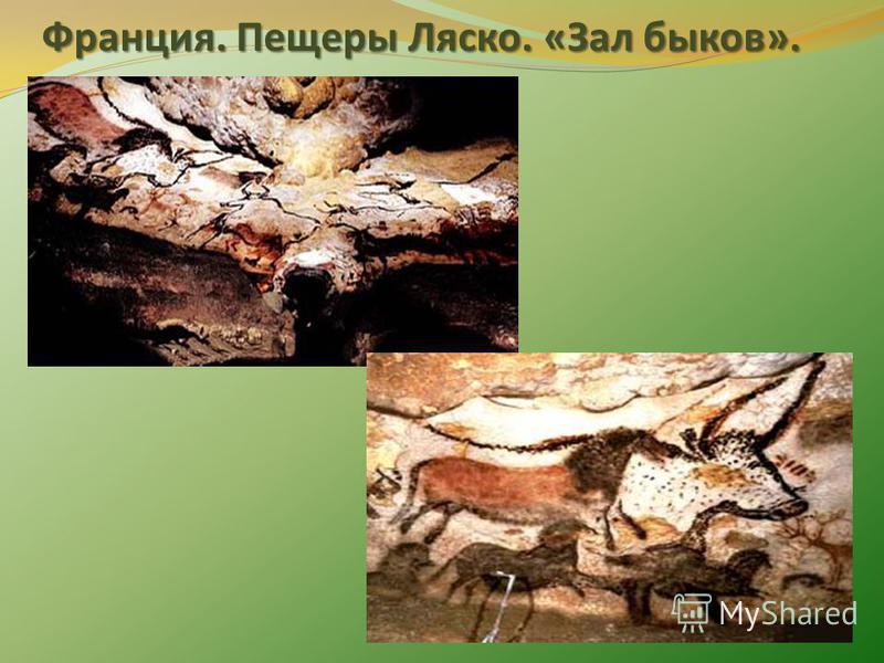 Франция. Пещеры Ляско. «Зал быков».