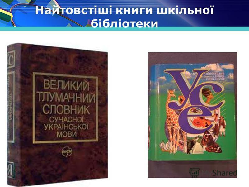 www.themegallery.com Найтовстіші книги шкільної бібліотеки